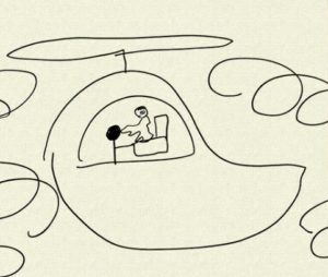 生田絵梨花のヘリコプター