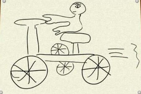 生田絵梨花の自転車