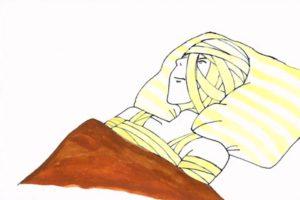 深川麻衣の包帯ルパン