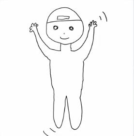 柴田柚菜の平泳ぎの絵